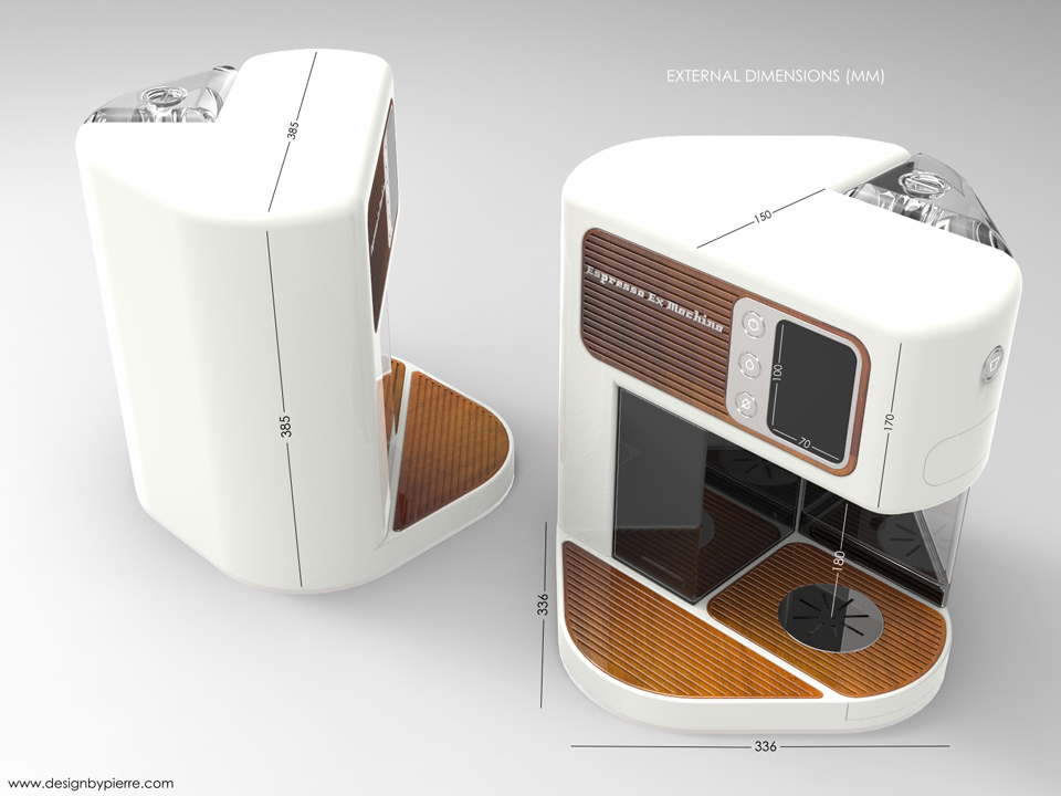 Espresso Machine Concept Design