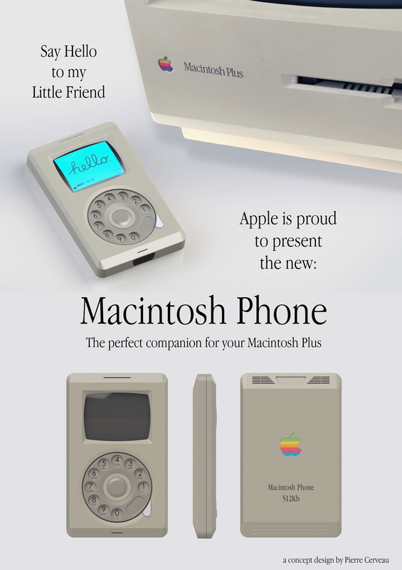 Macintosh Phone Concept Design